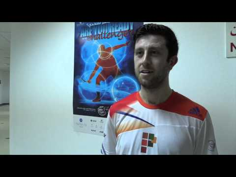 Daryl Selby : Last 16 Post Match Interview Qatar Classic 2013