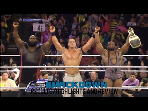 WWE Smackdown 12/27/13 Full Show Results/Highlights & Review. John Cena vs Seth Rollins