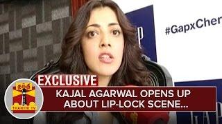 Exclusive : Actress Kajal Aggarwal opens up about Lip-lock Scene with Randeep Hooda – Thanthi Tv