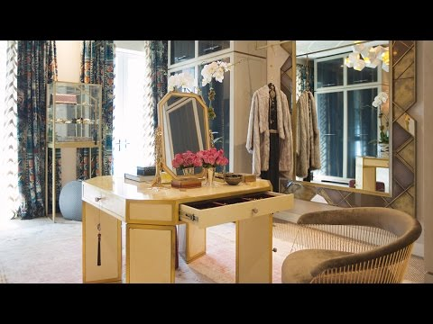 Interior Design – Tour A Dreamy Walk-In Closet In NYC