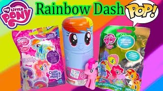 MLP Squishy Pops Mystery Surprise Blind Bag Balls Bracelet My Little Pony Toy Review Opening ...