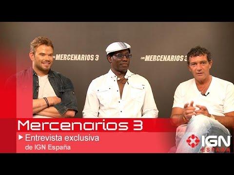 Mercenarios 3 - Banderas, Wesley Snipes y Kellan Lutz