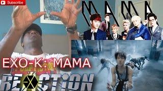 EXO K MAMA Music Video Korean ver REACTION