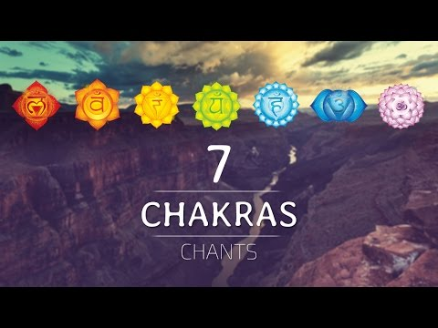 ALL 7 CHAKRAS HEALING CHANTS | Chakra Seed Mantras Meditation Music