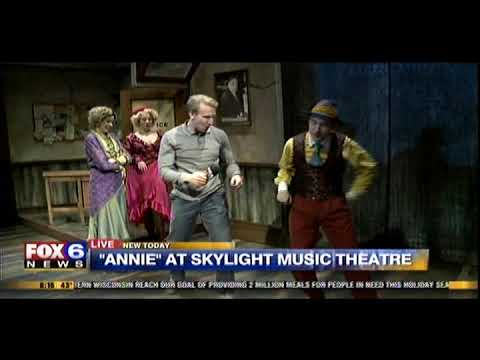 """Easy Street"" from ""Annie"" at Skylight Music Theatre on Fox 6 Wake Up"