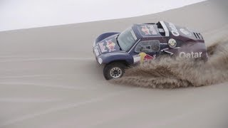 New Concept Car - Qatar Red Bull Rally Team prepares for Dakar Rally 2013