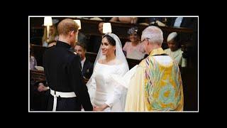 American bishop's rousing royal wedding address