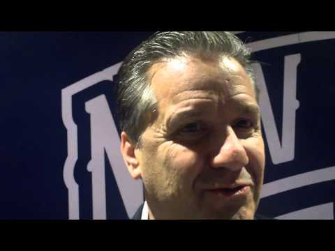 Kentucky coach John Calipari says Tyreke Evans and Anthony Davis have connected to be exceptional du
