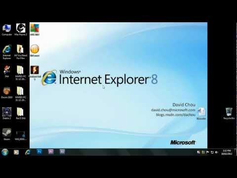 How To Get Internet Explorer 8 On Windows 7