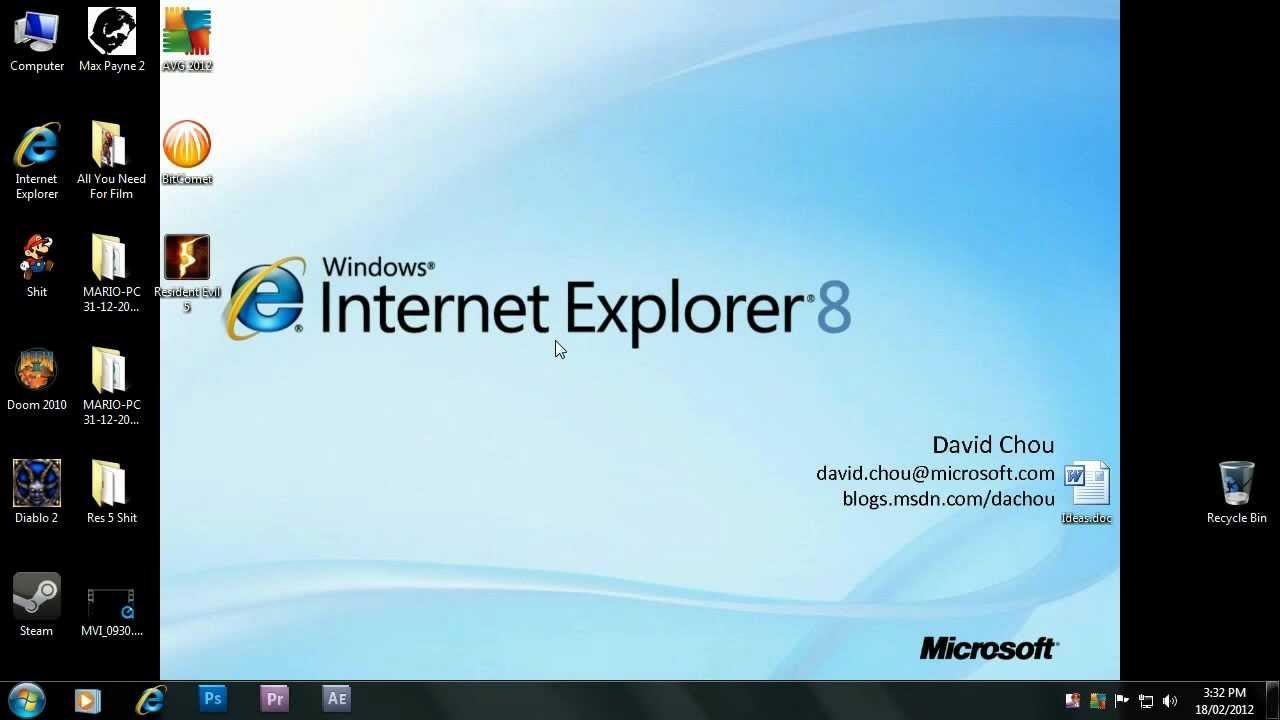 Скачать интернет эксплорер 7 для виндовс 8.