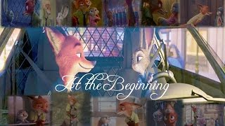 Nick and Judy_At the Beginning (Richard Marx/Donna Lewis_Zootopia_AMV Official Clip)