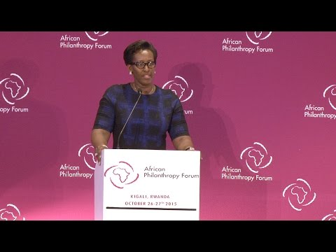 Special Address by Her Excellency Jeannette Kagame, First Lady, Republic of Rwanda | #APF15