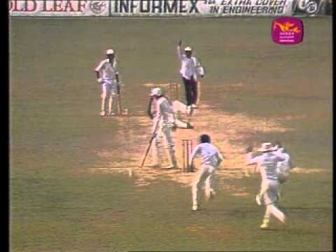 Sri Lanka's First Test Cricket Victory - SL won by 149 runs v India