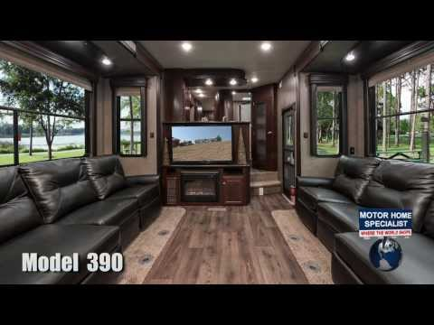 Road Warrior 390 Toy Hauler Luxury 5th wheel review at Motor Home Specialist