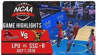 NCAA 94 MB: LPU vs SSC-R | Game Highlights | July 7, 2018