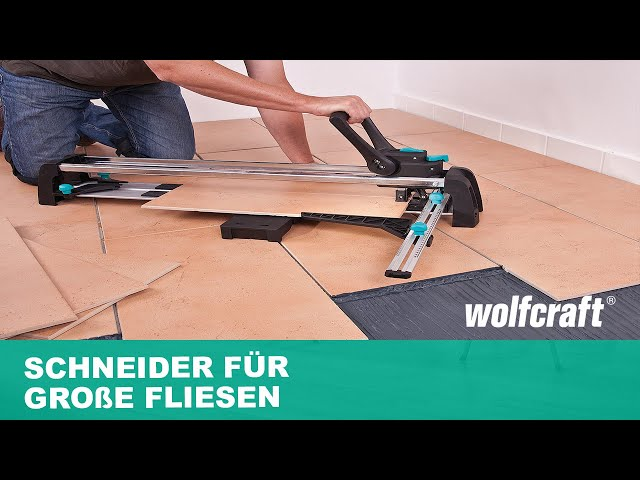 wolfcraft tc 670 expert fliesenschneider ab 131 96 preisvergleich bei. Black Bedroom Furniture Sets. Home Design Ideas