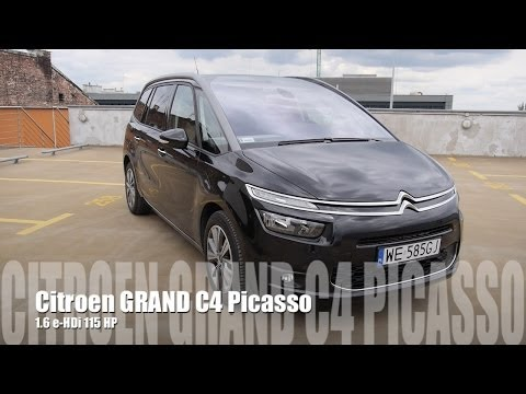 (ENG) Citroen Grand C4 Picasso 1.6 HDi - Test Drive and Review