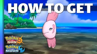 HOW TO GET Alomomola in Sun and Moon | Pokemon Sun and Moon