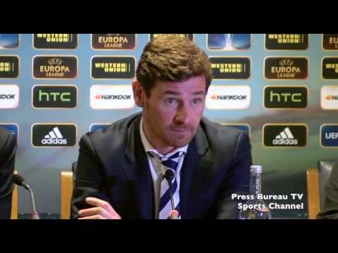 Andre Villas-Boas reaction to Tottenham vs Inter Milan