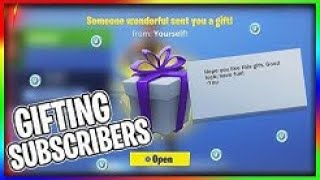 🔴 GIFTING SUBSCRIBERS FREE SKINS LIVE IN FORTNITE!