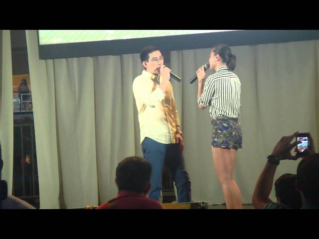 Be Careful With My Heart Duet of RY & JSM @Glorietta Palm Drive February 15,2014