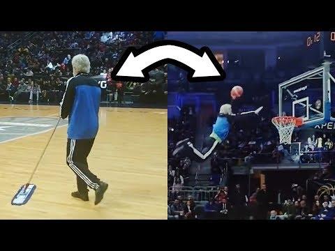 Basketball PROFI VERKLEIDET als ALTER OPA!