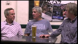 Terry Rawlings talks to Mick Avory and John Dalton(The Kinks)