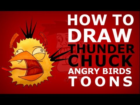 Angry Birds Toons Drawing How to Draw Angry Birds Toons
