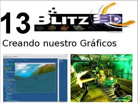 Video 13- Blitz 3d - HAciendo los Gráficos de nuestra Aventura Conversacional
