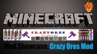 CrazyOres V7.0 [Minecraft 1.4.6/1.4.7]