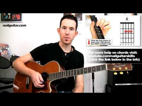 Satisfaction Acoustic Guitar Lesson - Rolling Stones