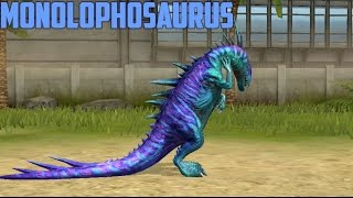 MONOLOPHOSAURUS - LVL 40 - Jurassic World The Game