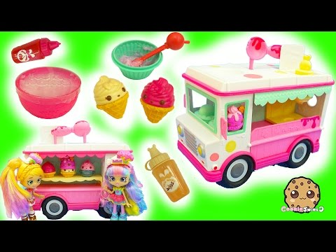 Do It Yourself DIY Make Your Own Num Noms Series 2 Lip Gloss Ice Cream Truck Maker Set