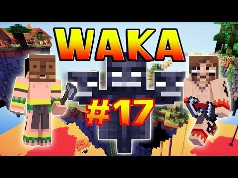 Waka - Ep. 17 - Le Wither Boss - Fanta Et Bob Dans Minecraft video