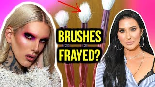 JEFFREE STAR X MORPHE BRUSHES FRAYED + JACLYN HILL DRAMA + NIKKIE TUTORIALS APOLOGY?
