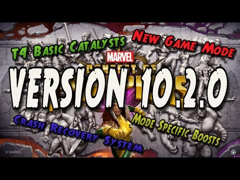NEW GAME MODE, BUG FIXES & CRASH RECOVERY - VERSION 10.2.0 [MARVEL CONTEST OF CHAMPIONS]