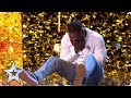 Comedian Kojo gets Simon's GOLDEN BUZZER | Auditions |... thumbnail