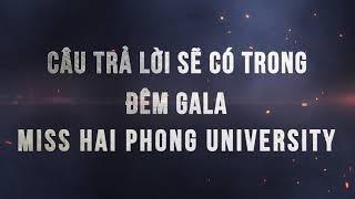 Shining Media: Trailler Nữ Sinh Duyên Dáng 2018 - Miss ĐH Hải Phòng