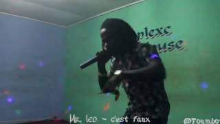 Mr. Leo performing c'est faux at Foumbot (Music Camerounaise)