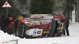 Crash & Show Rally Sweden 2019 Friday [Passats de canto]