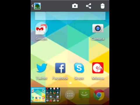 Captura de Pantalla en LG Optimus L1X (ScreenShot)