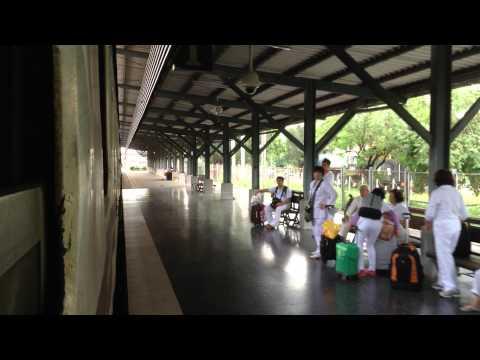 SRT | Rapid Train No.172 Su-ngai Kolok – Bangkok Departing Hatyai Station