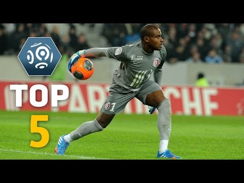 Week 16 : Top 5 Goalkeeper saves: ENYEAMA is the man - Ligue 1 - 2013/2014