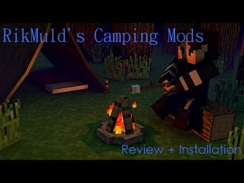 Minecraft: RikMulds Camping Mod | Re-Review + Installation