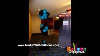 How To Make a Balloon Topiary Ball- San Diego Balloons