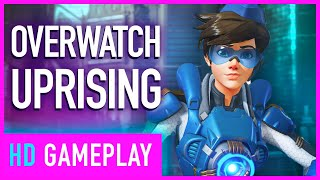 Overwatch Uprising Seasonal Event Cinematics And Tracer Gameplay