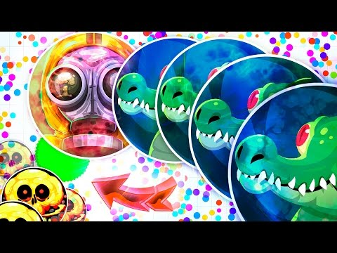 Agar.io - TRAPPING OF POPSPLITS ( Trolling People in Agario )