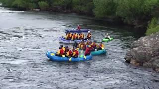 Noticias de Esquel. Bajada de Rafting por el Río Corcovado.