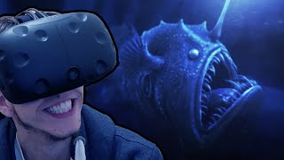 HTC Vive - The Ocean Is Scary!   TheBlu