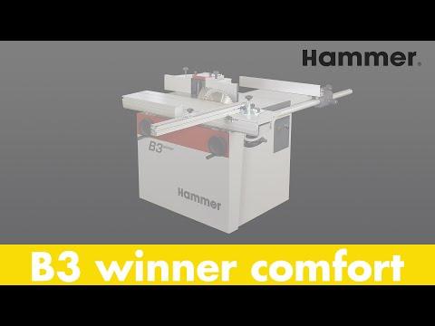 Kreissäge-Fräsmaschine HAMMER B3 winner comfort  (Teil 1) - Felder Group